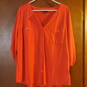 XL women's button down blouse
